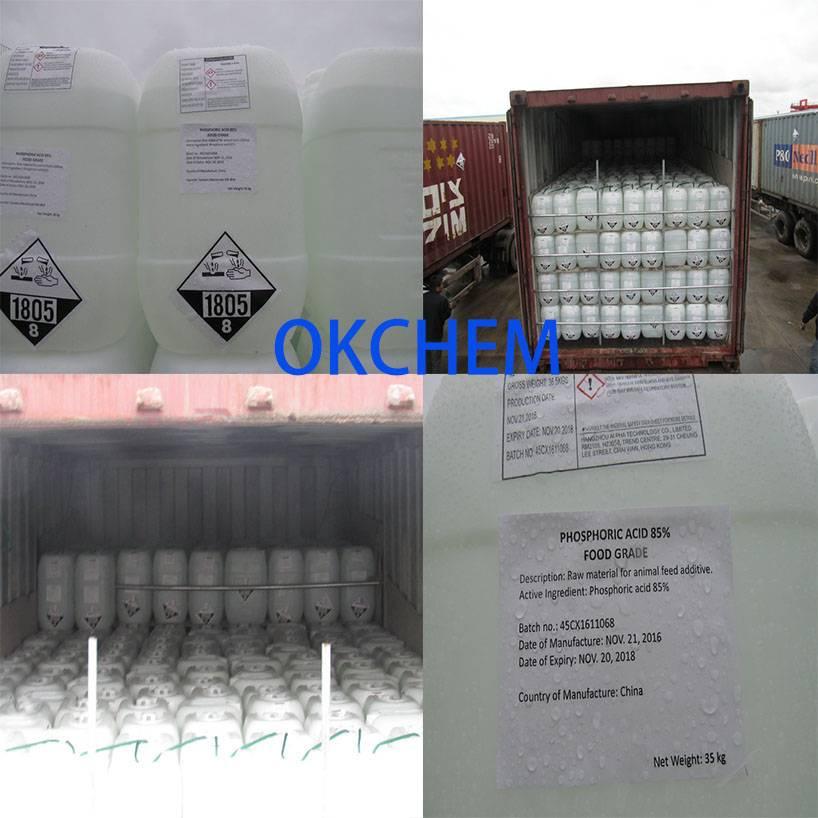 Phosphoric Acid 85% (Food grade)_OKCHEM