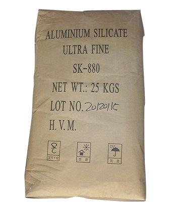 Ultra - fine aluminum silicate